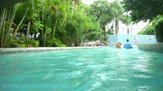 Lazy River (Complete HD Experience) Wet N Wild Water Park Orlando