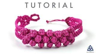 DIY Macrame Bubble Bracelet | CUTE DIY Bracelets
