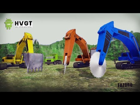Heavy Excavator Rock Mining 3D [ HVGT - Gameplay  iOS / Android ]