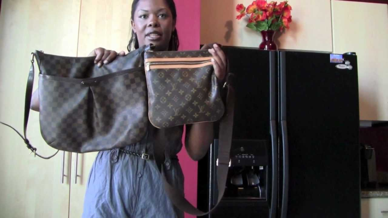 Louis Vuitton Bosphore Pochette - YouTube 8c0bae6e5de77