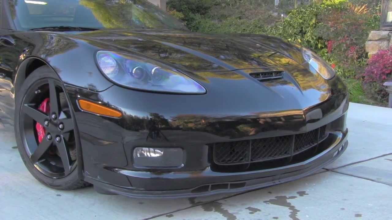 C6 Corvette Coupe Custom Z06 Youtube