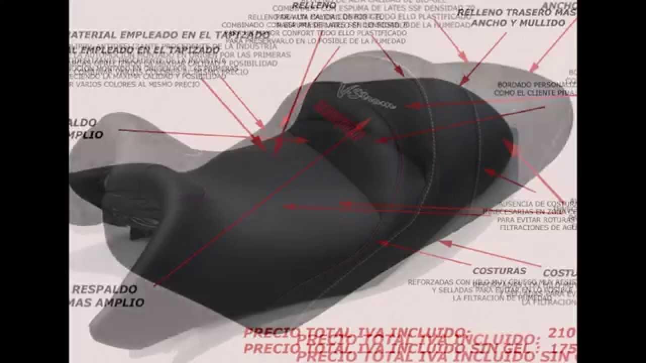Tapiceria de la moto sevilla youtube for Tapiceria de asientos de moto