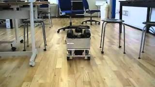 DTU Mobile Robot navigating 3D obstacles using Kinect