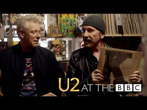 U2 go record shopping in São Paulo (Preview: U2 At The BBC)