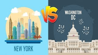Comparison ll New York vs Washington D.C ll Which is Better?