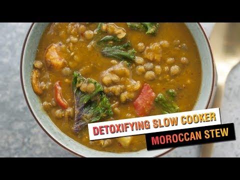 Detoxifying Slow Cooker Moroccan Stew | Vegan Recipe | Vegetarian Recipe