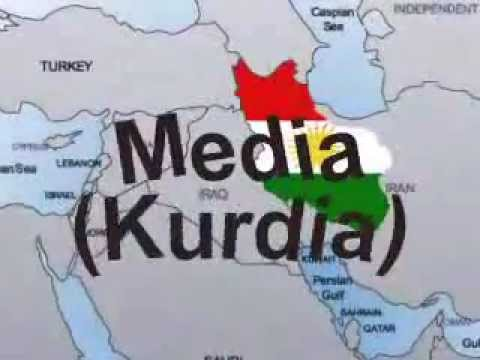 Kurdish Median Empire and Crushing Assyria