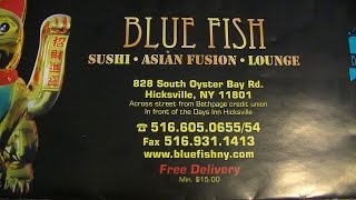 Blue Fish Japanese Restaurant & Lounge Sushi Takeout Review