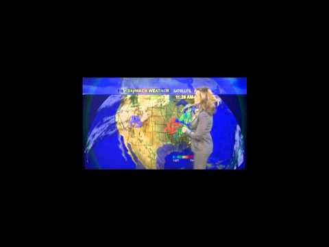 WACH Forecast 11/28/11, Alexis King
