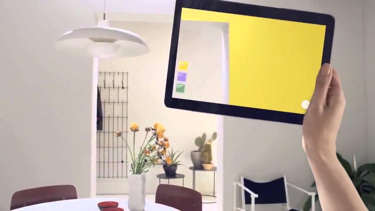 Visualiza antes de pintar tu casa con la app de bruguer - Como pintar mi casa moderna ...