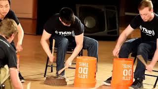 Taiko-Inspired Bucket Drumming