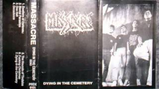MASSACRE - Dying In The Cemetery [Demo Completo]