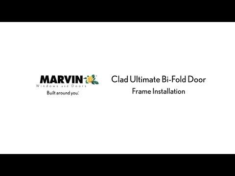 Marvin Clad Ultimate Bi-Fold Door - Frame Installation - YouTube