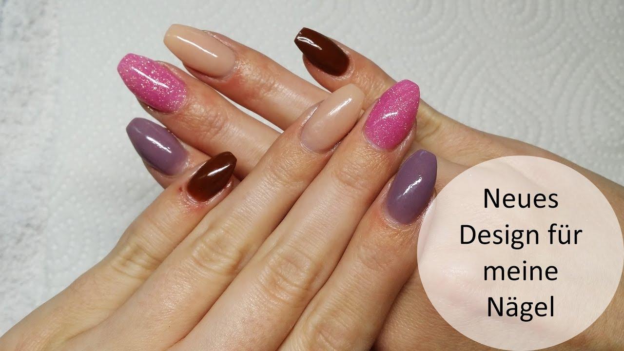 Neues Design für meine Nägel | Nugenesis Dip Nails - YouTube