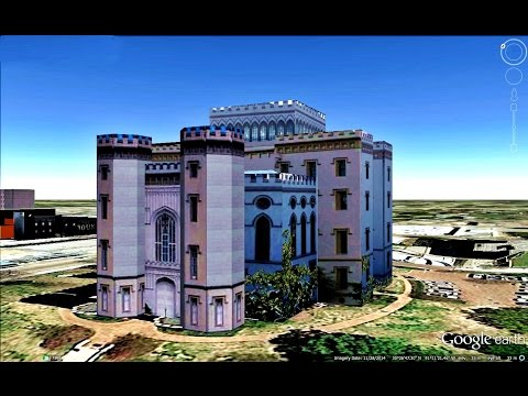 HISTORICAL PLACES OF LOUISIANA STATE,U S A  IN GOOGLE EARTH
