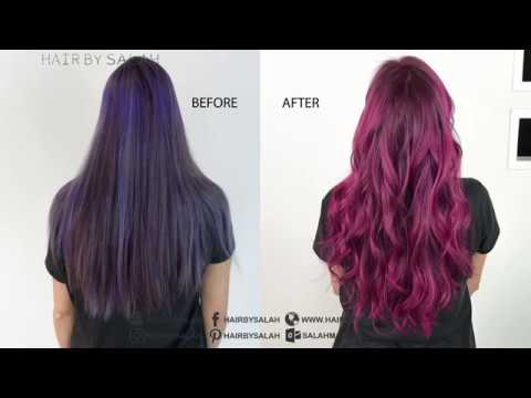 Rose Red Hair Color How To Do That Shade Youtube