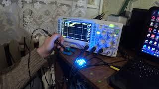 Электронный осциллограф Rigol DS1054z - Экспресс обзор функционала