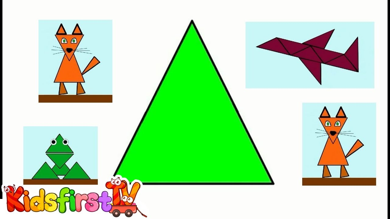 Colors & shapes for kids. Kids\' learning videos. - YouTube