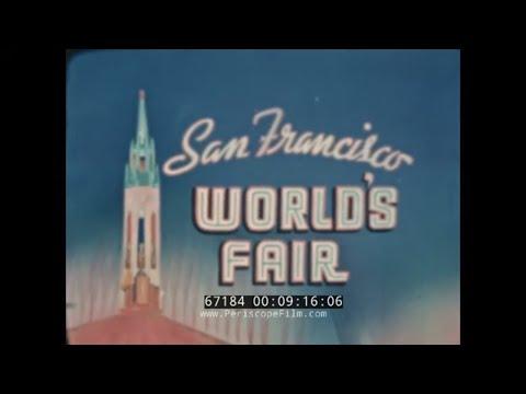 1939-1940 SAN FRANCISCO & GOLDEN GATE INTERNATIONAL EXPOSITION HOME MOVIE    SUTRO BATHS  67184
