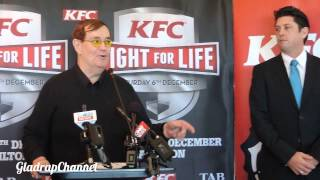 BOXING COMMENTATOR COL BOB SHERIDAN TALKS JOSEPH PARKER VS IRINEU BEATO COSTA JR