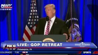 FULL SPEECH: President  Donald Trump at GOP Retreat in Philadelphia