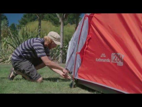 How To Pitch A Kathmandu Retreat 280 Tent