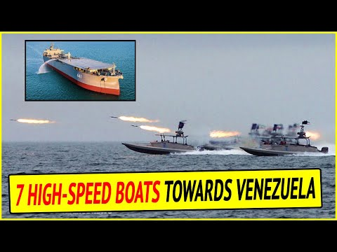 Iranian Warship Headed to Venezuela with 7 High-Speed Missile Boats Aboard