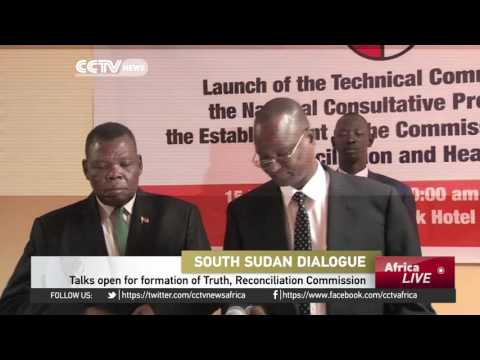 Talks open in South Sudan for formation of Truth, Reconciliation & Healing Commission