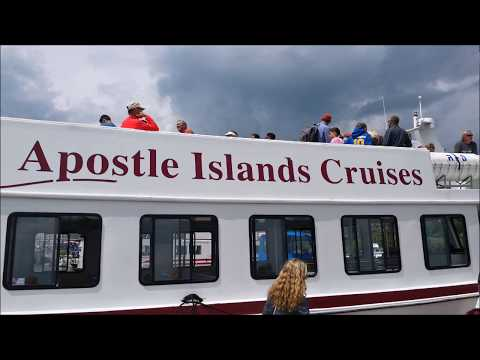 Apostle Islands National Lakeshore Cruise ~ Bayfield Wisconsin