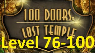 100 doors Lost Temple level 76, 77, 78, 79, 80