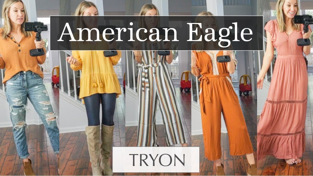 02dadf96854 American Eagle Try On Haul 2018 - YouTube