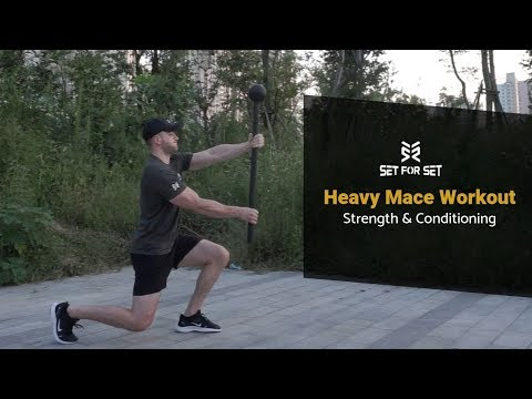Heavy Steel Mace Workout for Strength & Conditioning