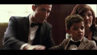 Cristiano Ronaldo asks his son to speak with lionel messi...