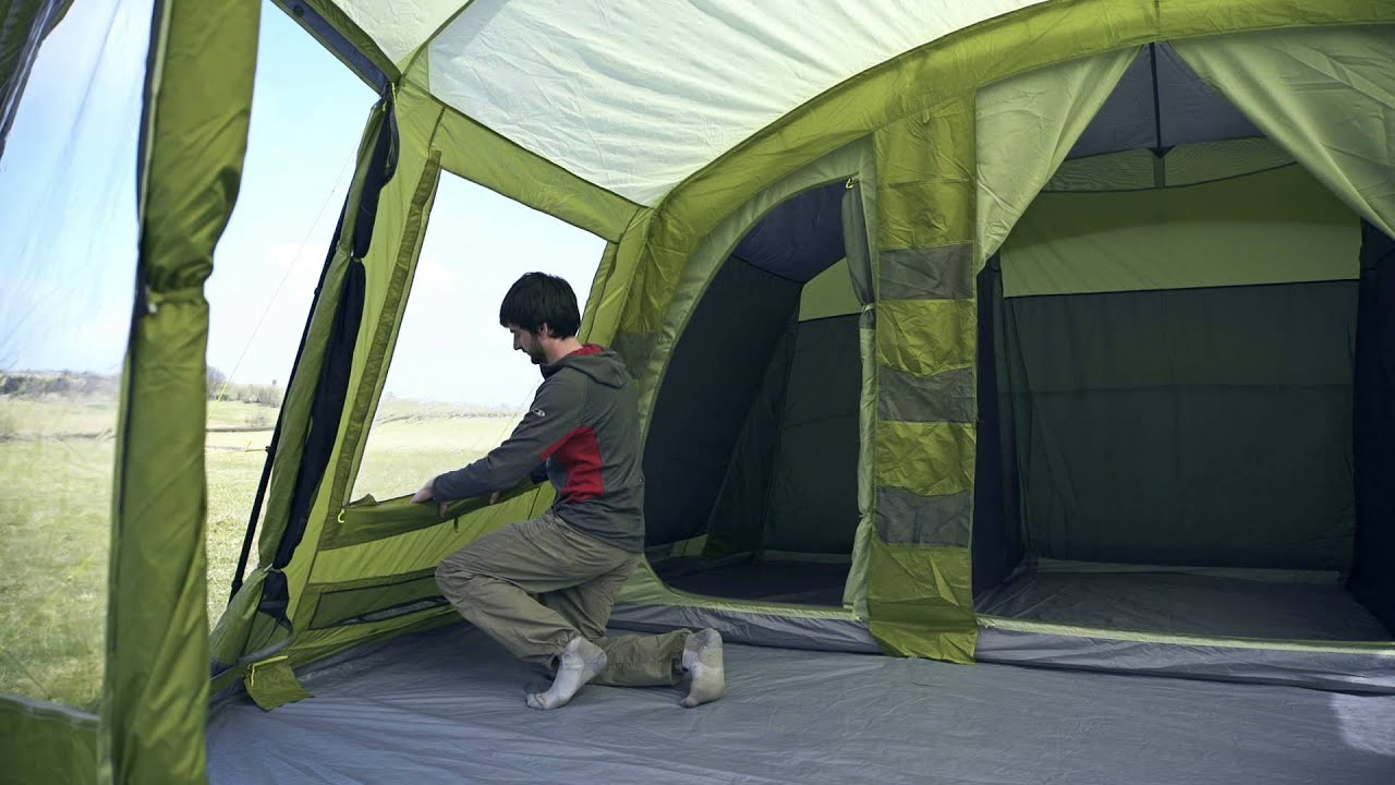 Vango Nadina 600 Family Tent Youtube