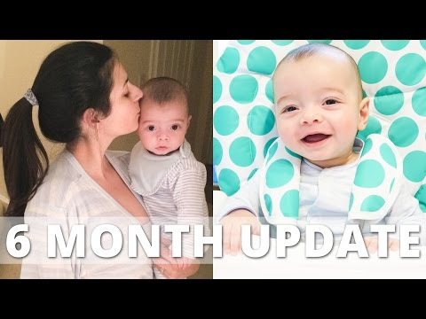 6 Month Baby Update Weaning Teething and Sleeping  Ysis Lorenna