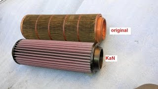replacing the air filter for kan mercedes benz a clase w168 170 cdi mf