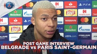 POST GAME INTERVIEW : BELGRADE vs PARIS SAINT-GERMAIN