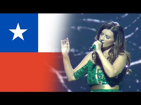 Laura Pausini Similares Word Tour 2016 Chile Movistar Arena
