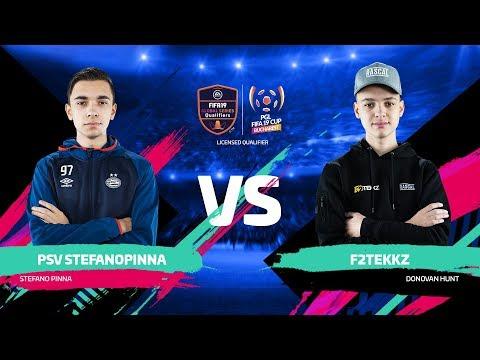 PSV StefanoPinna Vs F2Tekkz   PGL FIFA 19 CUP   Официальная русскоязычная трансляция