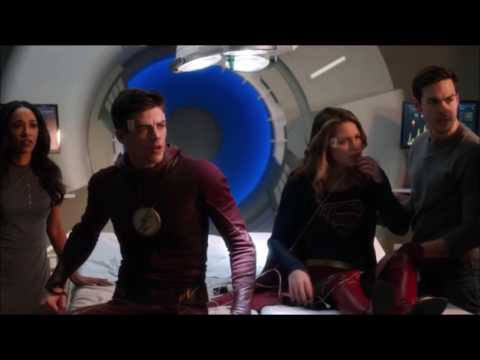 The Flash 3x17-Iris and Mon El save Barry and Kara   Meister teaches them a lesson