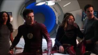 The Flash 3x17-Iris and Mon El save Barry and Kara | Music Meister teaches them a lesson