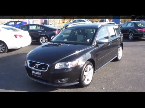 2009 Volvo V50 T5 R Design Awd Walkaround Start Up Tour And Overview