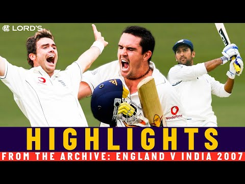 Pietersen Masterclass & Dhoni Survives To Save Game! | Classic Match | England v India 2007 | Lord's