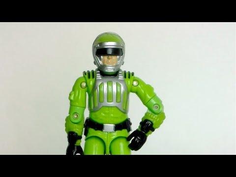 1986 Sci-Fi (Laser Trooper) G.I. Joe review