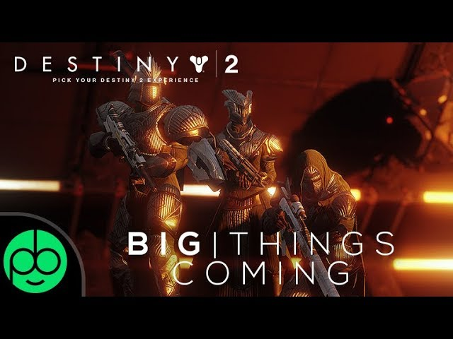 Destiny 2: Big Things Coming May 29th