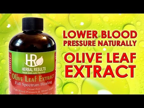 how-to-lower-blood-pressure-naturally---olive-leaf-extract!
