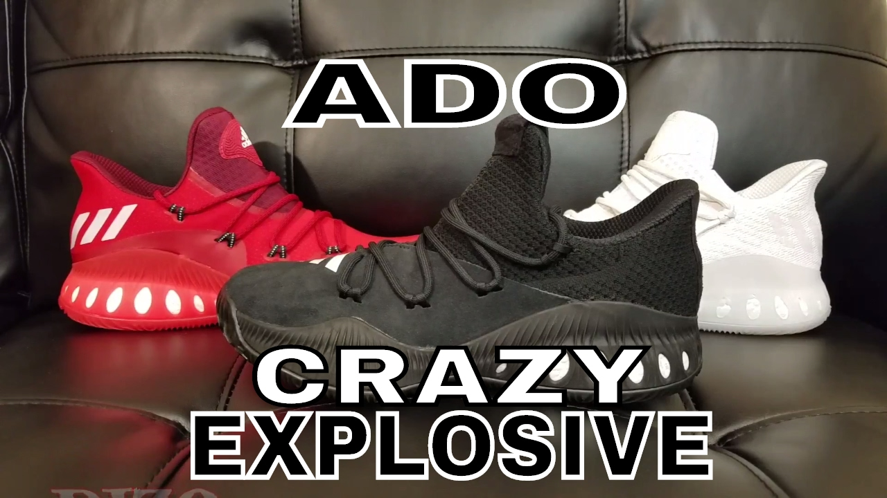 3c504691e Unbox Them Copps - A.D.O. (Adidas Day One) Crazy Explosive Low - YouTube