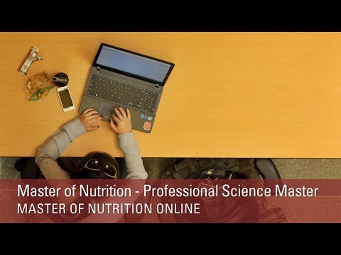 Professional Science Masters - NC State University Master of Nutrition Online