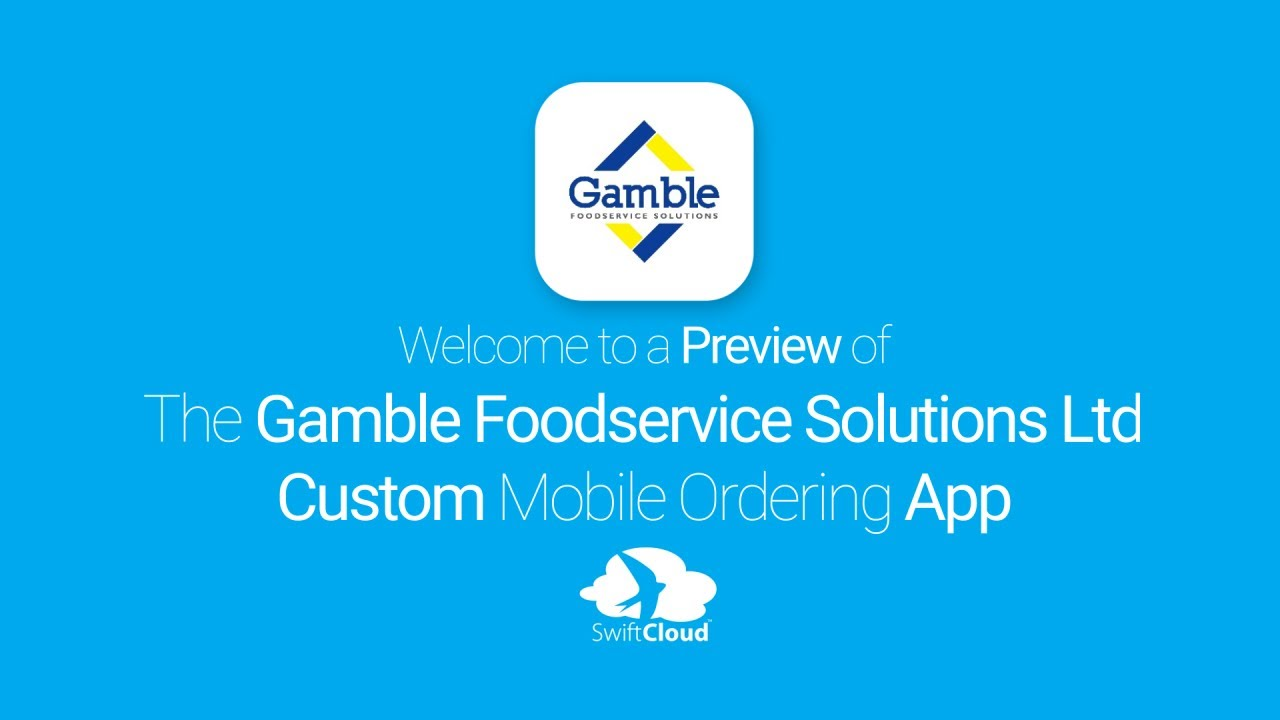 Gambles foodservice andrew james gamble