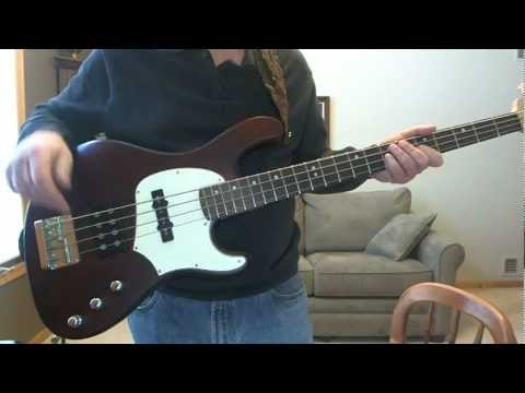 Greg Papaleo Cort Bass GB GB34A Guitar with Padded Case  SOLD!